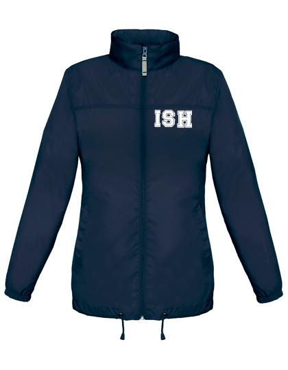 Rain Jacket, females - navy - size XS - XXL
