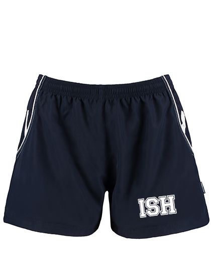 Sport Shorts Girls,  (Gr. XS(34)-XL(42) - 100%PES in Navy/White