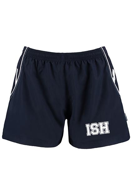 Sport Shorts Girls,  (Gr. XS(34)-XL(42) - 100%PES in Navy/White