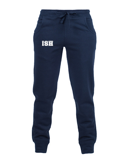 Kids slim cuffed sweatpant - navy - size 116-152