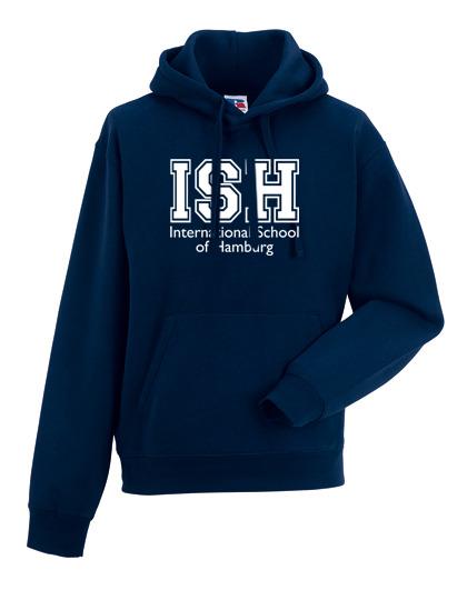 Hoodie - unisex (Size XS-XXXL) - 80/20 navy and heather grey