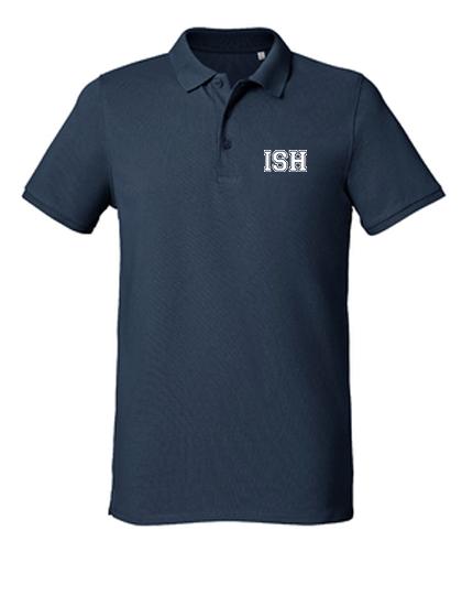 Poloshirt men (Size S-XXXL) - 100% Bio-Cotton (heather grey, navy)