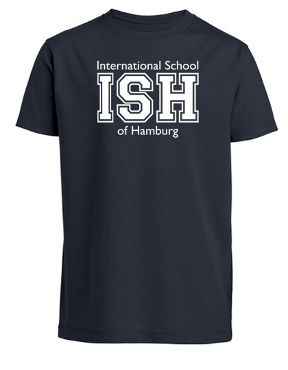 T-Shirt boys- (Gr. 116-152) 100% Bio-Cotton - (navy, heather grey, white)