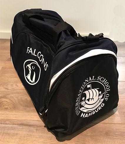 Pro Bag Quadra - 100%PES in Navy/Black/White (55 Liter)
