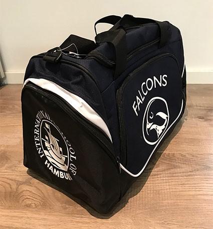 Pro Team Locker Bag - 100%PES in Navy/Black/White (30 Liter)