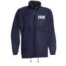 Rain Jacket, males - navy - size S - XXXL
