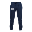 Slim cuffed sweatpants, females - navy - size XS-XL