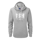 Hoodie - women (Size XS - XL) - 80/20 navy and heather grey