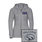 NEW Sport Zip-Hoodie women (Size XS-XL) - 80/20 in navy and heather grey