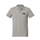 Poloshirt men (Size S-XXXL) - 100% Bio-Cotton (heather grey, navy)