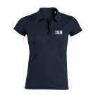 Poloshirt women (Size XS-XXL) - 95/5 in navy and heather grey
